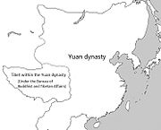 Yuan dynasty and Tibet