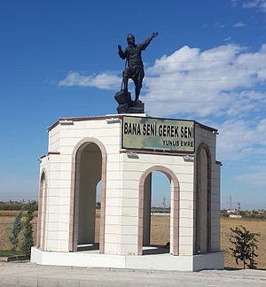 Yunus Emre - Image: Yunus Emre Memorial, Karaman, Turkey