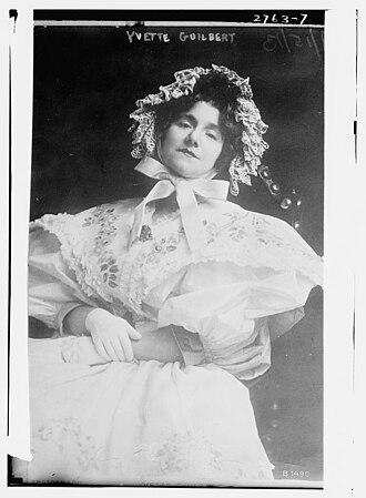 Yvette Guilbert - Yvette Guilbert in 1913