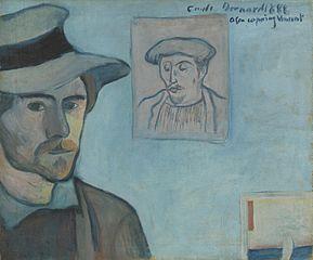 Self-Portrait with Portrait of Gauguin