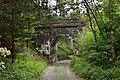 Zirl - Mittenwaldbahn - erste von drei Brücken zwischen Brücke Wasserstollen und Rottenunterkunft Hochzirl - 1.jpg