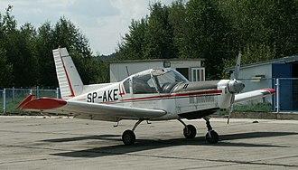 Zlín Z 42 - Zlin Z42 M, tail number SP-AKE (nr 0170).