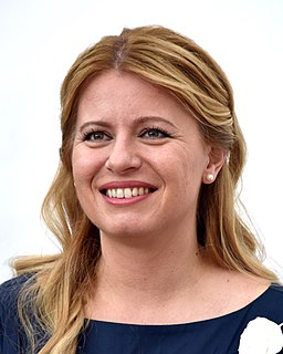 Zuzana Čaputová President of Slovakia