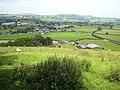 """Grandstand"" near Trefeglwys - geograph.org.uk - 901451.jpg"