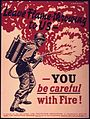 """Leave flame throwing to us - NARA - 514855.jpg"