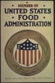 """Member of the United States Food Administration. Please Hang This Card In Your Front Window."", ca. 1917 - ca. 1919 - NARA - 512510.tif"