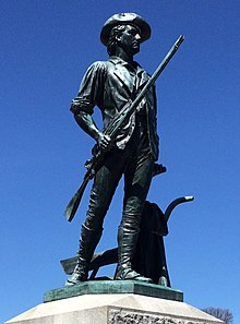 """The Minuteman"" by French.jpg"