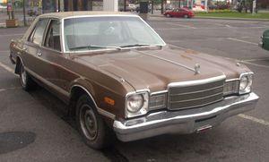 Dodge Aspen - 1977 Plymouth Volaré sedan
