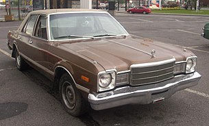 '77 Plymouth Volare Sedan (Orange Julep).JPG