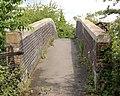 'Black path' footbridge over railway (3) - geograph.org.uk - 1349236.jpg