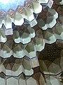 (بخشی از مقرنس کاری ایوان ورودی به صحن مدرسه ازدرون رواق دارالولایه-حرم امام رضا(ع.jpg