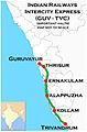 (Guruvayur - Trivandrum) Intercity Express Route map.jpg