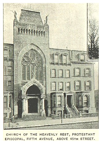 Church of the Heavenly Rest - 45th Street in the 1890s