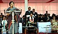 (Smt.) D. Purandeswari addressing at the Flag-Down ceremony of the 2nd AESEAN – India Car Rally 2012, at Guwahati. The Chief Minister of Assam Shri Tarun Gogoi, the Minister of State for Tribal Affairs.jpg