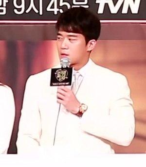 Ha Seok-jin - Image: (TV TEN) tv N 연극이 끝나고 난 뒤 제작발표회 하석진 & 비투비 이민혁의 말말말! 32s