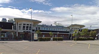 Åre Östersund Airport - Image: Åre östersund flygplats