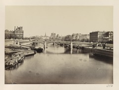 Édouard Baldus, View of Seine River, looking toward Notre-Dame - Library of Congress.tif