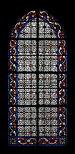 Église Saint-Jean-Baptiste de Belleville - vitrail d'une chapelle.jpg