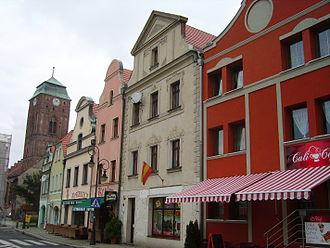 Żagań - Old town