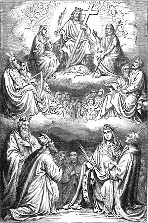 Znalezione obrazy dla zapytania Świętych Pańskich w Niebie