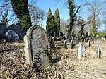 Jewish cemetery at the town of Strakonice, South Bohemian Region, Czech Republic