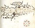 Χάρτης της νήσου Χβαρ (Κροατία) - Millo Antonio - 1582-1591.jpg