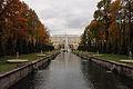 Аллея фонтанов (двадцать два фонтана) (Санкт-Петербург и Лен.область, Петергоф, Большой (Самсоновский канал)).JPG