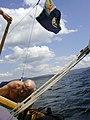БабкинА.И.ЯхтаГелиос. Озеро Тургояк.16.08.2003.jpg