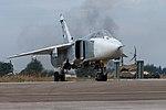 Будни авиагруппы ВКС РФ на аэродроме Хмеймим в Сирии (41).jpg