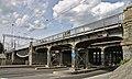 Железнодорожный мост через Обводный канал, Витебский ход, Санкт-Петербург.jpg