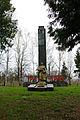 Михайлівка, Братська могила і пам'ятник воїнам – односельчанам загиблим на фронтах ВВВ, біля Будинку культури.jpg
