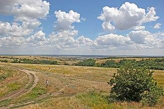 Kalachyovsky District - Water protection zone near the Karpovka River in Kalachyovsky District