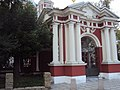 Ограда с воротами Храма сщмч. Климента, папы Римского 01.JPG