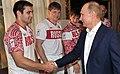 Олимпийская сборная России по дзюдо на встрече с Владимиром Путиным.jpg