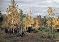 Осенний пейзаж. Золотые березки.jpg