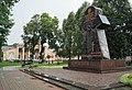 Пам'ятник жертвам репресій та кінотеатр Галичина на майдані Сободи у Бродах.jpg