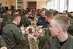 Президент України Петро Порошенко привітав молодих офіцерів з випуском 156 (16758292560).jpg