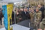 Президент оглянув виставку військової техніки до Дня захисника України 8072 (22190710156).jpg