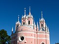 СПб. церковь Рождества Иоанна Предтечи (Чесменская) купола.JPG