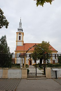 Beška Village in Vojvodina, Serbia