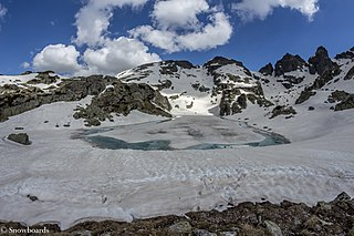 Rila Mountain range in Bulgaria