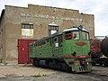 ТЭ3-7601, Казахстан, Карагандинская область, депо КПТУ (Trainpix 62863).jpg