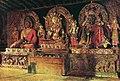 Три главных божества в буддийском монастыре Чингачелинг в Сиккиме.jpg
