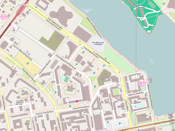 Карта Openstreetmap.org