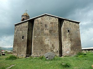 Gandzak, Armenia - Surp Gevork church in Gandzak, 9th century