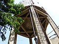 מגן דוד בבסיס מגדל המים שבשכונת מונטיפיורי.JPG