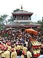 रण उजेश्वरी भगवती मन्दिर, भगवती जात्रा, तानसेन, पाल्पा.JPG