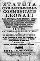 – Statuta civilia, et criminalia communitatis Leonati, 1722 – BEIC 10365111.jpg