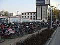 南京双龙大道岔路口地铁站外自行车停车场 - panoramio.jpg