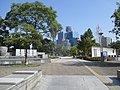 扇町公園から見える関西テレビ Ougimachi park - panoramio.jpg